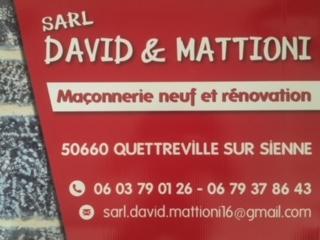 Bienvenue sur le site de David & Mattioni, aritsan maçon près de Granville
